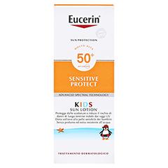 EUCERIN Sun Kids Lotion LSF 50+ 150 Milliliter - Rückseite