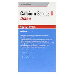 Calcium-Sandoz D Osteo 500mg/1000I.E. 90 Stück - Rückseite