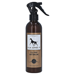 ANTI TANGLING & shine Spray Lila Loves it vet. 250 Milliliter