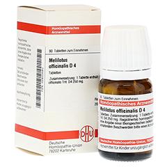 MELILOTUS OFFICINALIS D 4 Tabletten 80 Stück N1