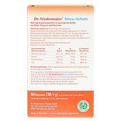 DR.NIEDERMAIER Stress-Schutz Kapseln 60 Stück - Rückseite