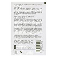 Cattier Weißes Heilerde Maske für alle Hauttypen 12.5 Gramm - Rückseite