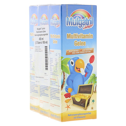MULGATOL Junior Gel 3x150 Milliliter
