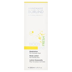 BÖRLIND BODY lind fresh Bodylotion 200 Milliliter - Vorderseite