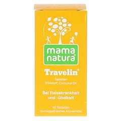 MAMA natura Travelin Reisetabletten 40 Stück N1 - Vorderseite
