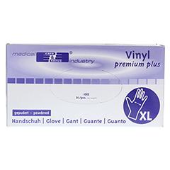 HANDSCHUHE Vinyl unsteril leicht gepudert Gr.XL 100 Stück - Vorderseite