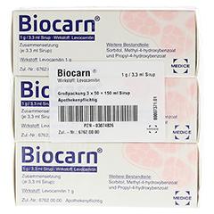 Biocarn 3x50 Milliliter N3 - Vorderseite