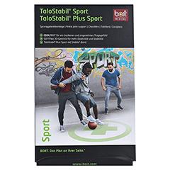 BORT TaloStabil Sport Bandage M schwarz/grün 1 Stück - Vorderseite