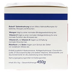 RUBAX Gelenknahrung Pulver 30 Stück - Linke Seite