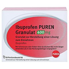 Ibuprofen PUREN 400mg 50 Stück N3 - Vorderseite