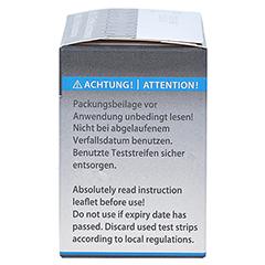 GLUCEOFINE Pro Blutzucker-Teststreifen 50 Stück - Rechte Seite