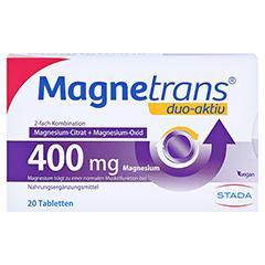 MAGNETRANS duo-aktiv 400 mg Tabletten 20 Stück - Vorderseite