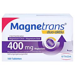 MAGNETRANS duo-aktiv 400 mg Tabletten 100 Stück - Vorderseite