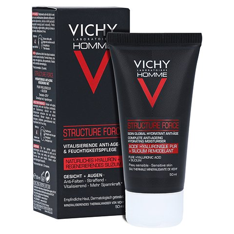 Vichy Homme Structure Force Gesichtscreme 50 Milliliter