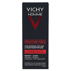 Vichy Homme Structure Force Gesichtscreme 50 Milliliter - Vorderseite