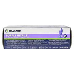 SAFESKIN Purple Nitrile Unt.Handsch.M 100 Stück - Oberseite