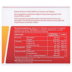 WOBENZYM immun magensaftresistente Tabletten 60 Stück - Rückseite