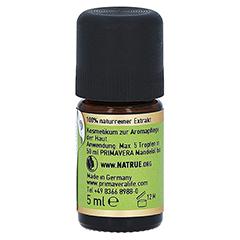 PRIMAVERA Tonka Extrakt Bio ätherisches Öl 5 Milliliter - Rechte Seite