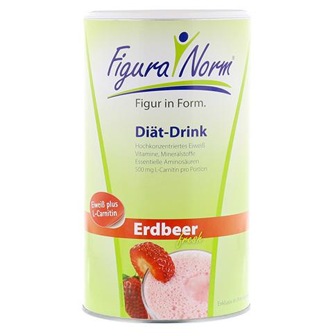 FIGURANORM Erdbeer fresh Pulver 360 Gramm