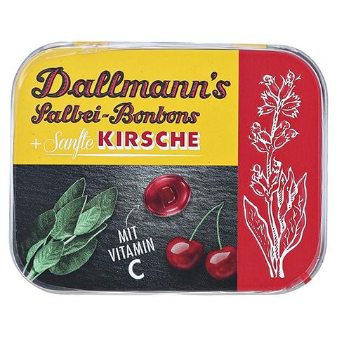 DALLMANN'S Salbei sanfte Kirsche Bonbons Dose 46 Gramm