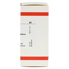 MELILOTUS OFFICINALIS D 4 Tabletten 80 Stück N1 - Rechte Seite