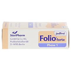 Folio 1 Forte jodfrei Filmtabletten 90 Stück - Rechte Seite