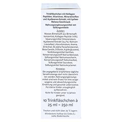 DOPPELHERZ Kollagen Beauty system Trinkfläschchen 10 Stück - Rechte Seite