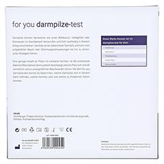 FOR YOU darmpilze-Test 1 Stück - Rückseite