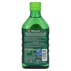 MÖLLER'S Omega-3 Apfelgeschmack Öl 250 Milliliter - Rückseite