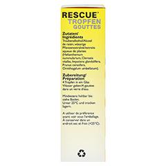 BACHBLÜTEN Original Rescue Alkohol Tropfen 20 Milliliter - Rechte Seite