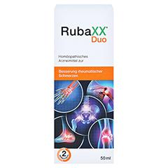 RUBAXX Duo Tropfen zum Einnehmen 50 Milliliter - Vorderseite