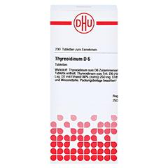 THYREOIDINUM D 6 Tabletten 200 Stück N2 - Vorderseite