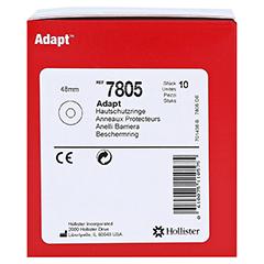 ADAPT Hautschutzringe flach 48 mm 10 Stück - Vorderseite