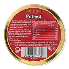 PULMOLL Hustenbonbons Classic Jubiläum 75 Gramm - Rückseite