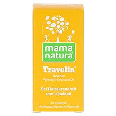 MAMA natura Travelin Reisetabletten 40 Stück N1 - Rückseite