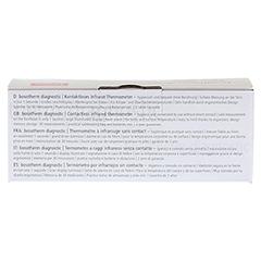 BOSOTHERM diagnostic Fieberthermometer 1 Stück - Rückseite