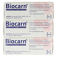 Biocarn 3x50 Milliliter N3 - Rückseite