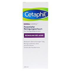 CETAPHIL Dermacontrol Reinigungsschaum 235 Milliliter - Rückseite