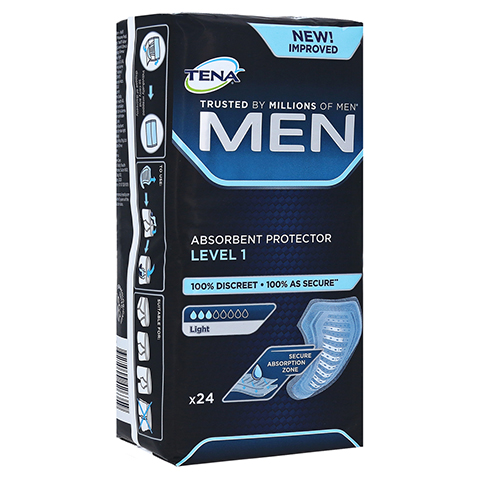 TENA MEN Level 1 Einlagen 24 Stück