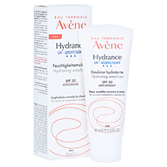 Avène Hydrance UV leicht Feuchtigkeitsemulsion LSF 30 40 Milliliter