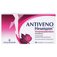 ANTIVENO Heumann Venentabletten 60 Stück - Vorderseite