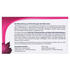 ANTIVENO Heumann Venentabletten 60 Stück - Rückseite
