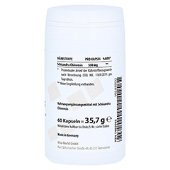 WUWEIZI Schisandra 500 mg Kapseln 60 Stück - Linke Seite