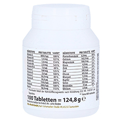 MULTIPLEX Multivitamin A-Z Tabletten 100 Stück - Linke Seite