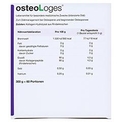 OSTEOLOGES Portionsbeutel 60 Stück - Oberseite