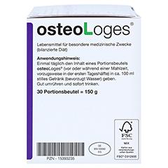 OSTEOLOGES Portionsbeutel 30 Stück - Linke Seite