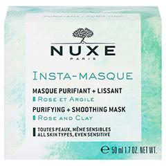 NUXE Insta-Masque Reinigende & glättende Gesichtsmaske 50 Milliliter - Rückseite