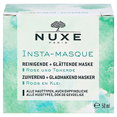 NUXE Insta-Masque Reinigende & glättende Gesichtsmaske 50 Milliliter - Vorderseite