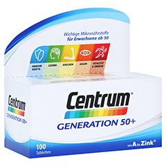 CENTRUM Generation 50+ A-Zink Tabletten 100 Stück
