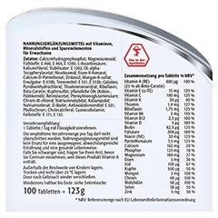CENTRUM A-Z Tabletten 100 Stück - Rückseite